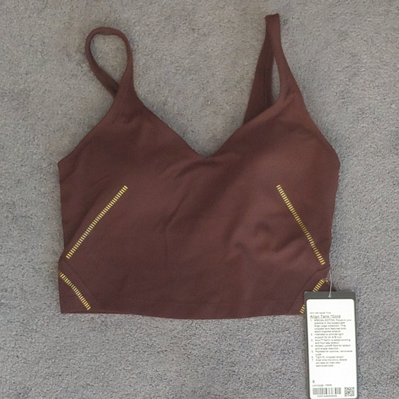 NWT Align Tank *Gold Special Edition